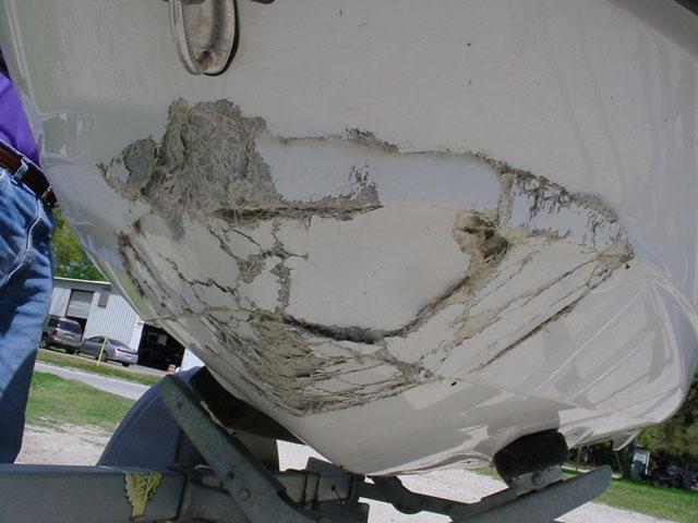 Fiberglass Hole Repair : Hole repairs westsidefiberglass